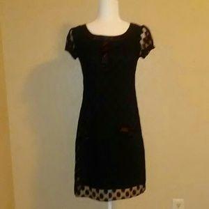 Enfocus Studios Black Dress. Size 4